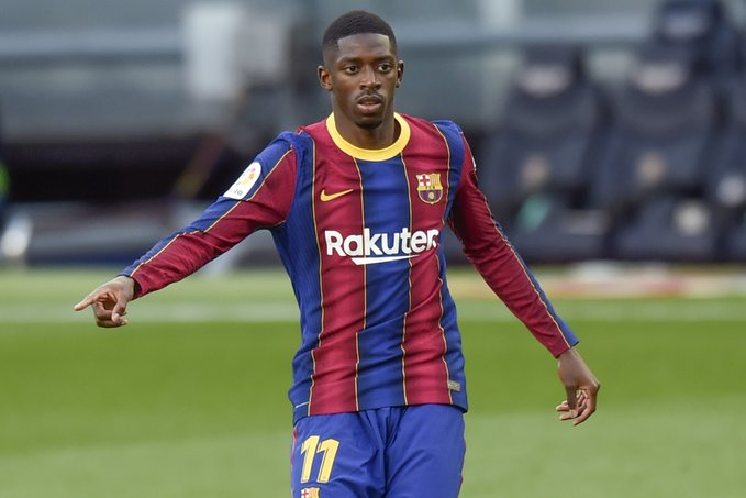 Manchester United are reportedly refusing to give up on signing Ousmane Dembele and will try to bring him in on an initial loan deal when the next transfer window opens in January. [sport] #mufc #RS