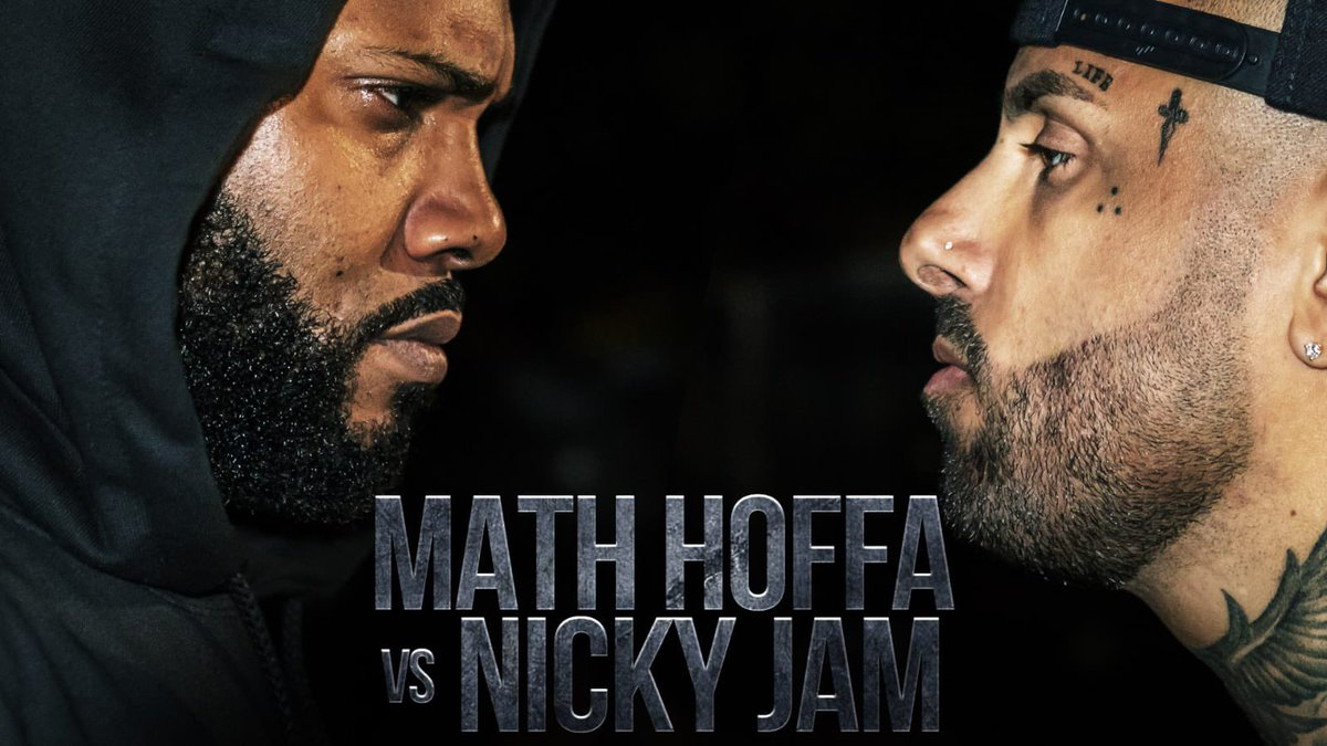 I predict the @MATHHOFFA vs @NickyJamPR battle does 7M the first week. 🤣 (just watch) #LegendsOnly
