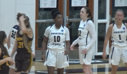 Malea Jackson scored 22 points including the game winner with 1.0 second left to lift UIS over Quincy in the Prairie Stars' season opener