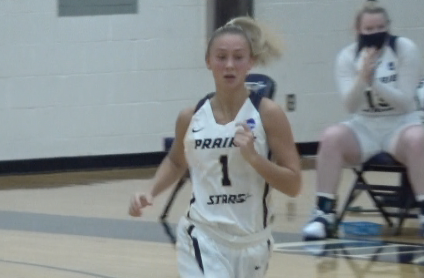 UIS 76 Quincy 75 Women's basketball season opener for the GLVC -   We've got highlights from the Prairie Stars come from behind win!