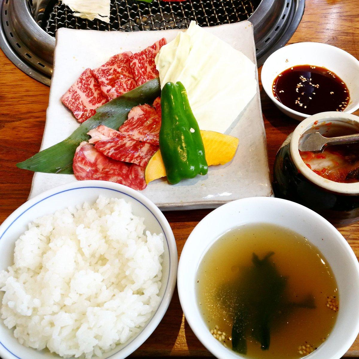 久しぶりに焼き肉食べてきた~🎶 美味しかった✨  #焼き肉 #ランチ #yakiniku #barbecue #japanesebarbecue #lunch #yummy #happy https://t.co/iHKjsqeA3K