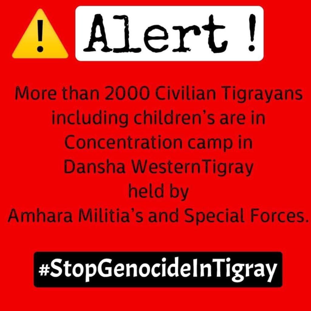 #StopWarOnTigray #SayNoToWarEthiopia #IStandWithTigray #TigrayGenocide #NationalDialogueNow #UNSC #R2PTigray @Amnesty @ABlinken  @_AfricanUnion @EUCouncil @antonioguterres @CoryBooker @ChrisCoons  @RepPressley @IlhanMN  @JosepBorrellF @BorisJohnson @UNHumanrights @UNESCO https://t.co/d3s8fCVAwT
