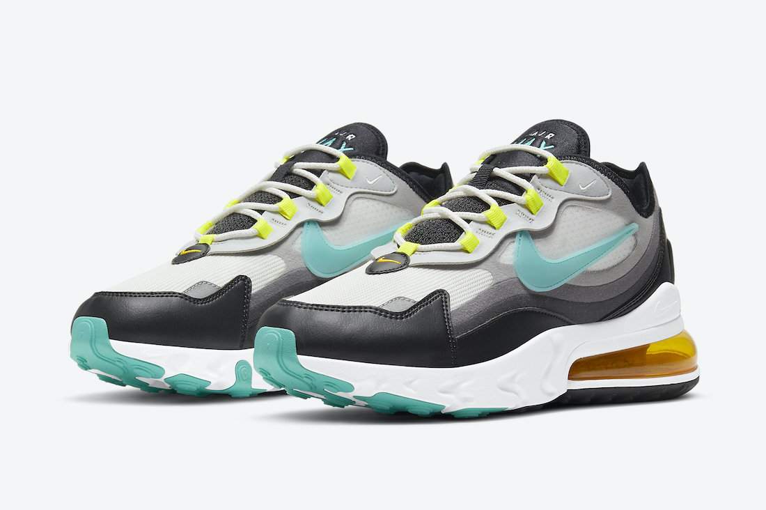Nike Air Max 270 React 'Evolution of Icons' Pays Tribute to Past Air Max Releases https://t.co/NrlySsMlT7 https://t.co/t2CjObLGNl