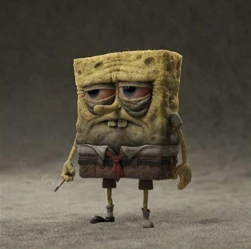 holiday - spongebog has seen shit