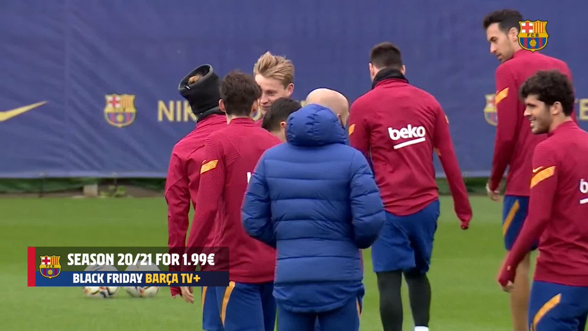 ⚡ LIVE NOW ⚡  ⚽ Barça training session ahead of @LaLiga duel vs @CAOsasuna   WATCH: