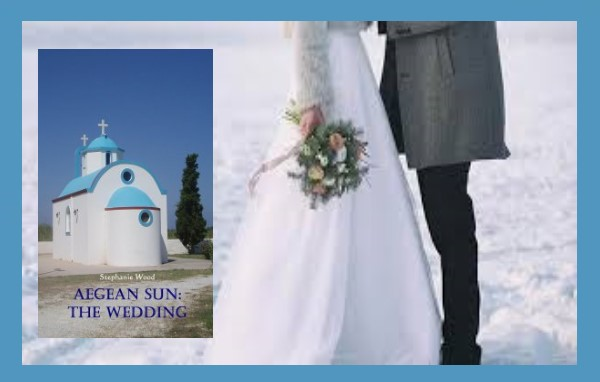 Books set in Greece are all about the summer, right? WRONG! You are invited to a #bigfatGreekwedding at #Christmas! 👰⛪️☀️🎄🎁 #amreadingromance #Greece #familysaga #weddingseason #weddingplanner #weddingideas #ChristmasWedding  AEGEAN SUN: THE WEDDING