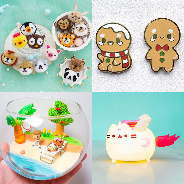 THIS WEEK ON SUPER CUTE KAWAII: 🎁 Kawaii Gingerbread Christmas At Etsy 💡 Cute Lamps To Light Up Your Home 🏝 More Kawaii Animal Crossing Crafts 🧶 Cute Pom Poms To Make, Decorate & Wear 🛍 Black Friday 2020: Discounts at Kawaii Shops ➡️ https://t.co/QfyekFL1Fy https://t.co/IFHk7j8XbO