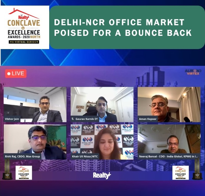 The #conversation on DELHI-NCR OFFICE MARKET- POISED FOR A BOUNCE BACK was full of valuable #insights and #expert analyses. #RPNorthConclave #NorthIndia #PostEvent #IndustryLeaders #RealEstateExperts #Networking #RealTalk #ThankyouSpeakers https://t.co/msnXQLaWoE