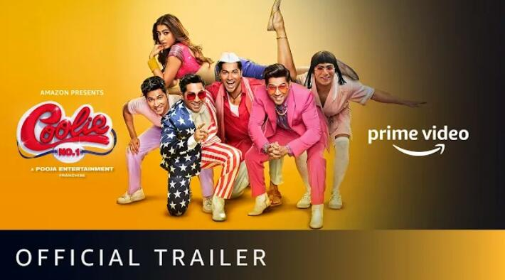 Looking fresh, promising and    very entertaining 😊 Loved the #CoolieNo1 trailer   #VarunDhawan you rocked, back with a bang💥  #SaraAliKhan looks stunning  on screen ❤  Waiting for #CoolieNo1OnPrime     #coolieno1trailer 👍   @Varun_dvn @Saratimes95