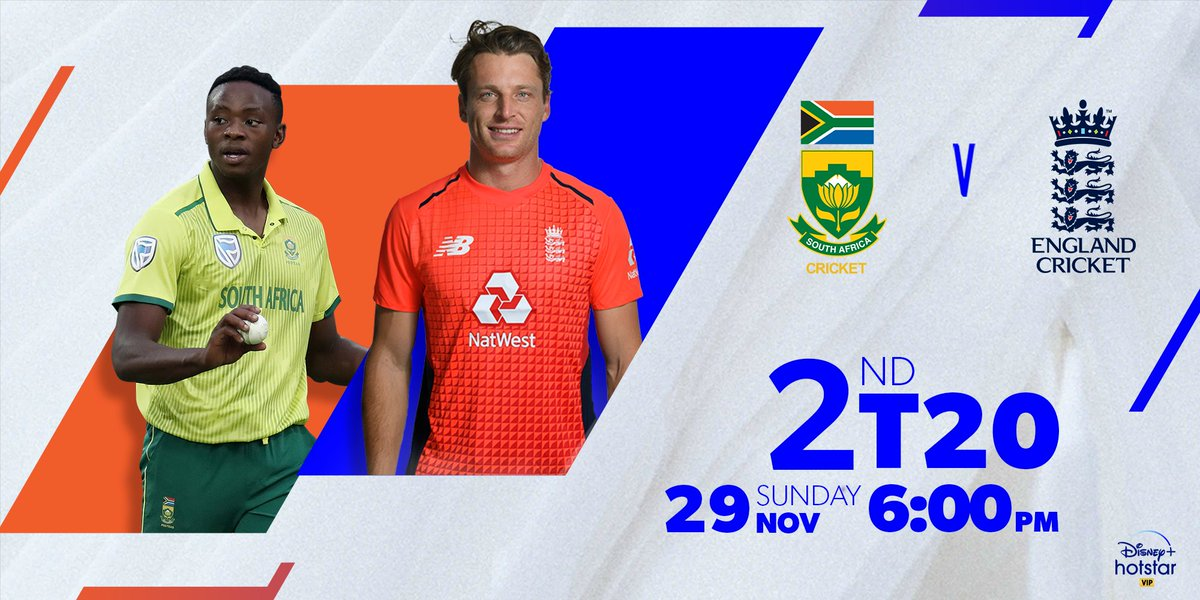 Will England extend their lead tonight with 2-0 or will South Africa level the score? The game is afoot from 6 pm! #StayTuned #SAvsENG