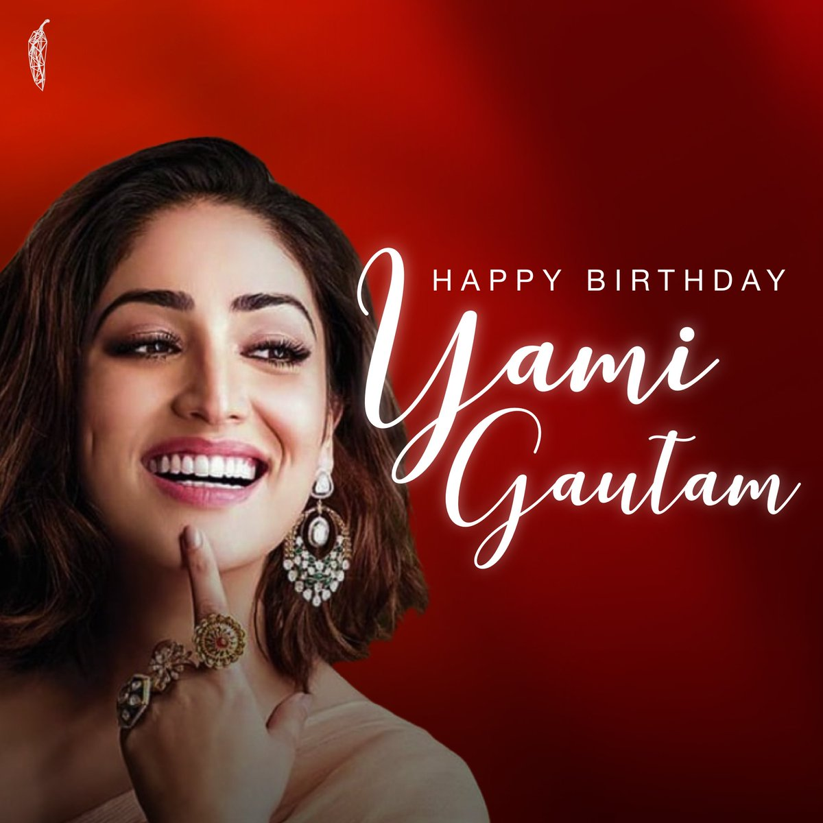 Wishing you a fantastic & lovely birthday @yamigautam ! Your bubbly & vivacious smile coupled with your acting prowess, has always allured us. It was a delight working with you in Bala! We were clean bald.. sorry.. BOLD with your performance !   #HappyBirthdayYamiGautam  - 🌶🎂🎉