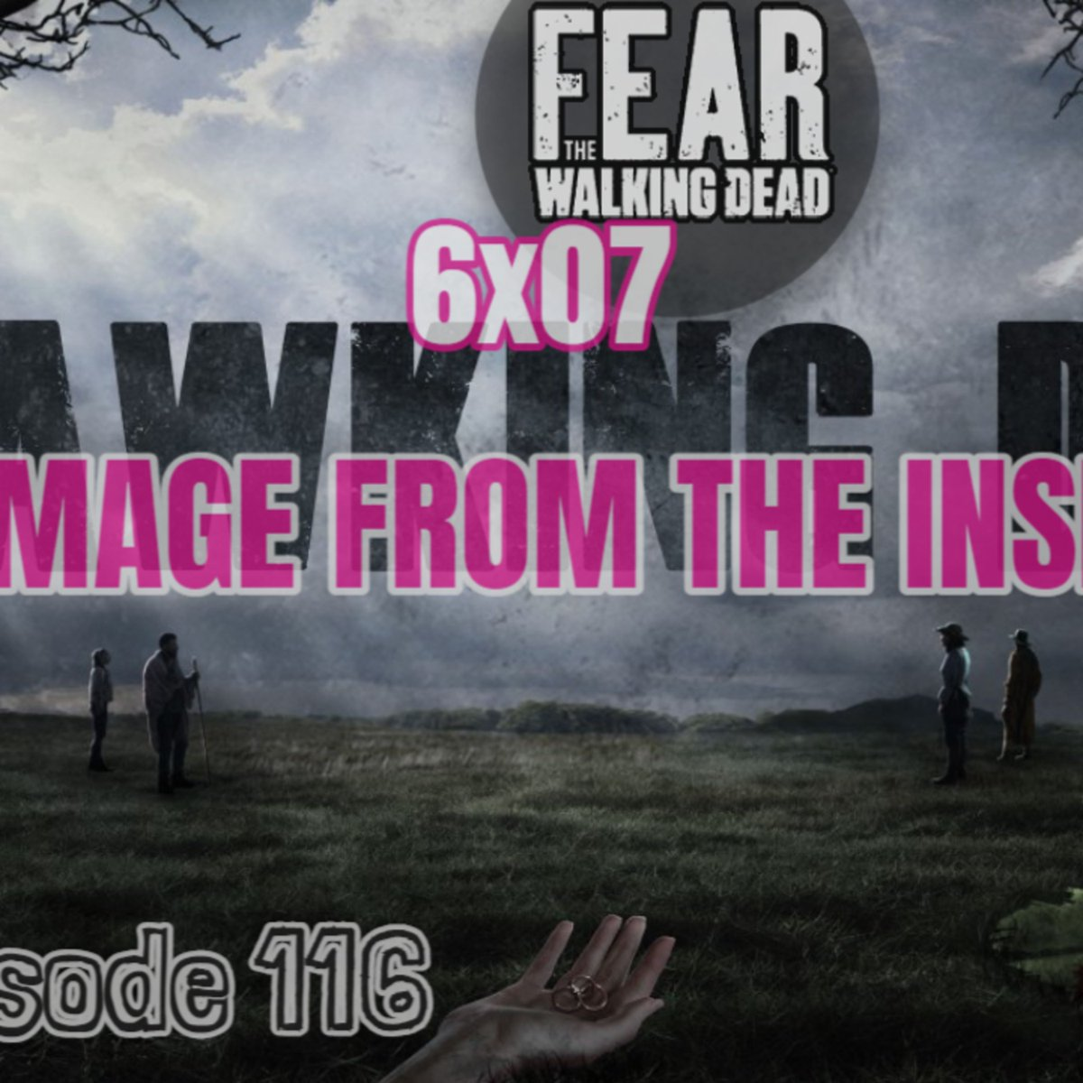 "🎧#Podcast Update!🔊[Episode 116] #FearTWDSeason6, Episode 7 of #FearTheWalkingDead, ""Damage From The Inside"" 👂🔗➡ https://t.co/LRnlPFvVIi  #Stitcher #RadioPublic #ApplePodcasts #Spotify #GooglePodcasts #SpotifyPodcast #iTunes #iTunesPodcast #Castbox #PocketCasts #FearTWD #FTWD https://t.co/kpHLSt8kVv"