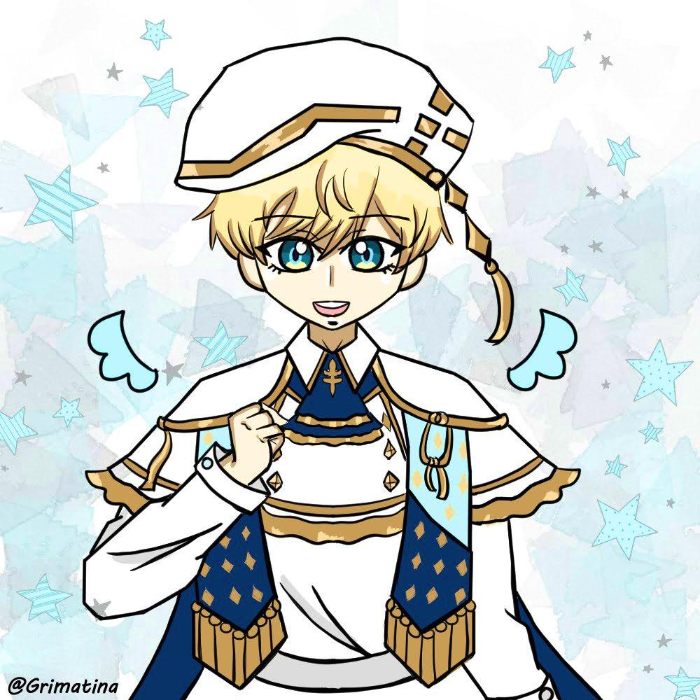 Day 28 : Luke 🐶  Protect him at all cost! 🥺 Anyways, got lazy toward the end but oh well! Well it was fun participating UwU  - - #obeyme #obeymeshallwedate #obeymemasters #obeymeluke #obeymefanart #obeymejp #SWD #OBEYMEmber #fanart #anime #digitalart #drawing https://t.co/ZjdFGdAbFs