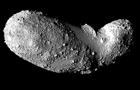 Many asteroids aren't solid rocks, but more like loose gravity-bound rubble piles.