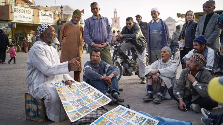 The art of storytelling has always been part of Arab culture.   Here is a look inside the life of Morocco's last storytellers.  #Morocco