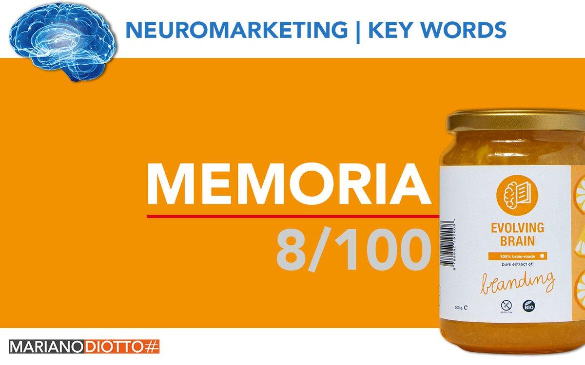 Dai uno sguardo all'ultimo articolo della mia serie Neuromarketing key words: MEMORIA 8/100 | #neurobranding #neuromarketing#neuroscienze#cervello#branding#webmarketing#customerexperience#brandpositioning#predictingpersonality#marketing#memoria