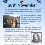 Image for the Tweet beginning: #BedfordshireDay - a good opportunity