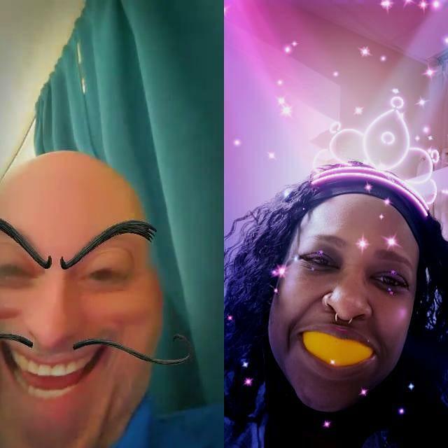 We keep up each other's spirits  #Phillygirl #Phillyjawn #lupus #autoimmune #chronicillness #invisibleillness #sjogrens #fibro #endo #insomnia #ILD #TIA #migraines #reynauds #costochondritispleurisy #gerdibsandgastroparesis #hiatalhernia #asthma #achingjoints e🌈 https://t.co/cE4Zny3138