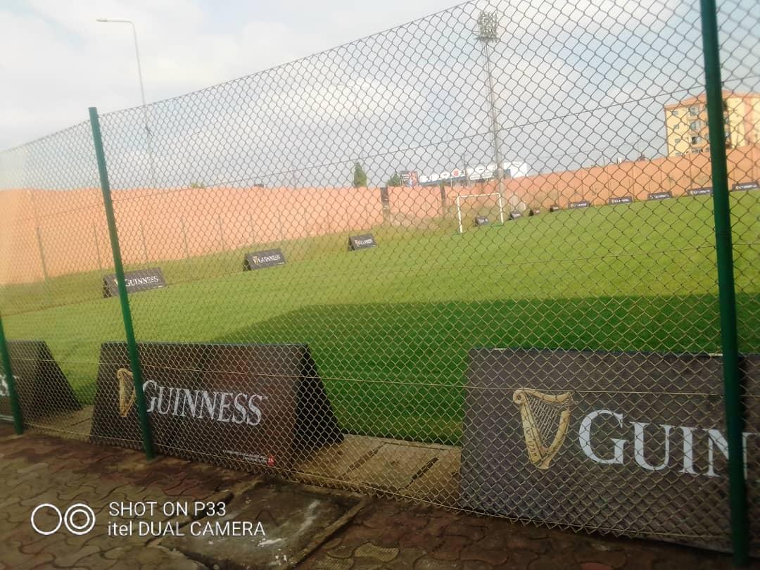 L'annexe No1 du Stade Ahamadou Ahidjo déjà prêt pour la 3e journée de #GUINNESSSUPERLEAGUE