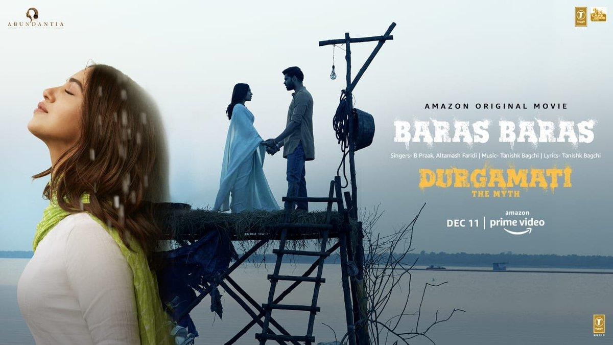 """#Durgamati Movie New Song Released """"Baras Baras""""   @TSeries @Durgamati #BPraak #TanishkBagchi #BhumiBednekar #ArshadWarsi #JisshuSengupta #MahieGill #KaranKapadia #CapOfGoodFilms #BhushanKumar #KrishanKumar #VikramMalhotra"""