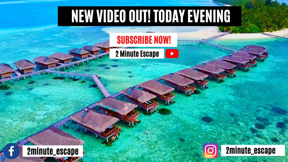 New video out today evening... SUBSCRIBE NOW 👇🏻and Turn the Notification Bell On! 🔔     #maldives #visitmaldives #bollywood #celebrity #covidtravel #COVIDー19