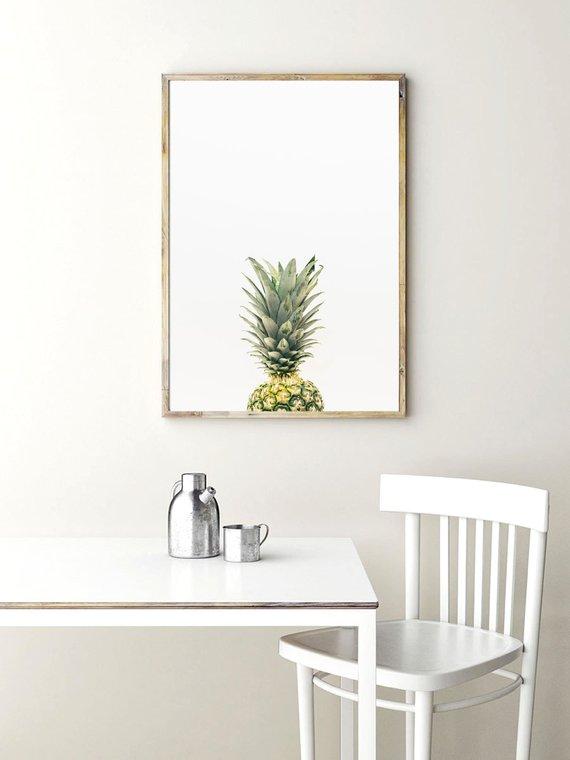 Pineapple Print - Minimalist Kitchen Art Printable Photo Print Pineapple Wall Art https://t.co/Diask7emog #download #pineapple #kitchendecor https://t.co/NrvRhKxfYx