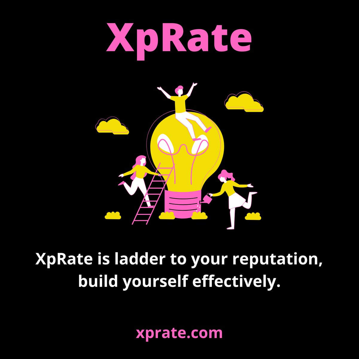 Reputation and influence must be earned. XpRate is the quickest way to show your audience how good you are 💯  Happy Rating 🌈 Sign Up Now 👇   #xprate #ratings #Review #reputation #success #entrepreneur #startups #DigitalMarketing #Investment #StockMarket