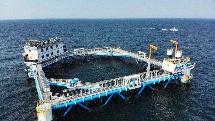 The construction and operation of marine ranches is changing the production mode of China's fishing industry. The technologies related to information, digitization and intelligence are gradually being applied in marine farm construction and management