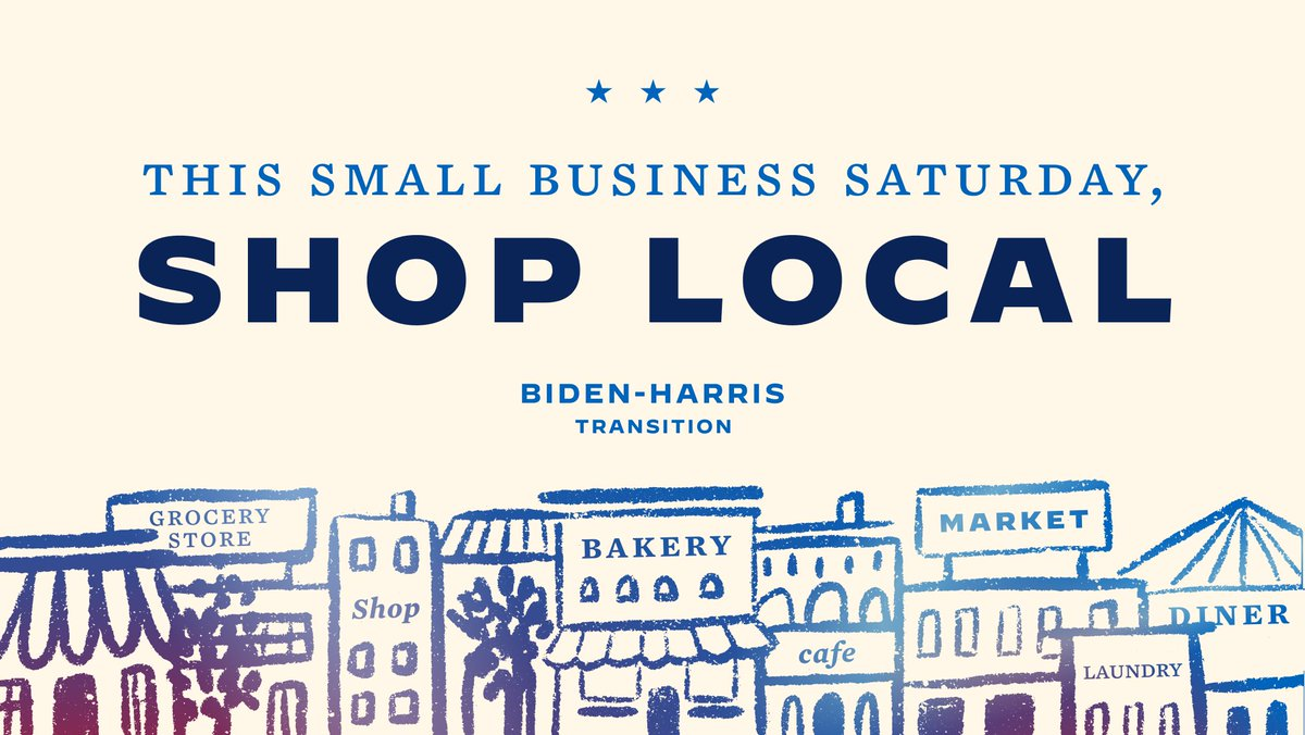 Small businesses are struggling. This #SmallBusinessSaturday, shop local.