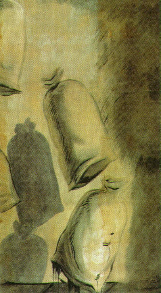Set design for the ballet 'Los Sacos Del Molinero', 1949 #surrealism #dali