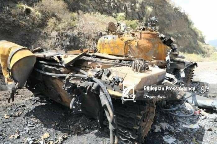 #اثيوبيا  صور تظهر الاشتباكات بين قوات الجيش الإثيوبي و اقليم #تيغراي ،الصور تظهر خسائر قوات التيجراي الانفصالية أمام قوات حكومة آبي أحمد.