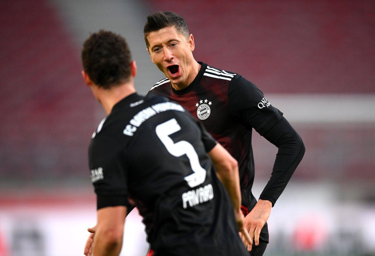 RT @FCBayernEN: Fifteen ⚽  🔴⚪ #VfBFCB 1-2 https://t.co/4kV3DAtwnd