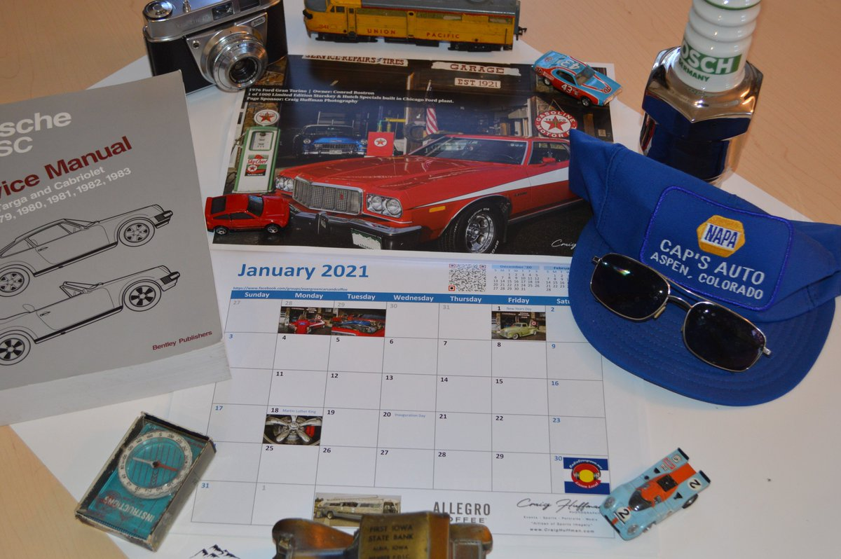 I'm planning my next road trip for when Covid 19 goes away. I got this cool #Calendar from David at Evergreen Auto Brokers . #Olde's #Evergreen #Auto #Brokers #NAPA #Mountain #Driving #Porsche #Jeep #Colorado #Texaco #Muscle #Cars #Imports #Garage #Gift https://t.co/cHYWDyF8ho https://t.co/FrGgvdu6ta