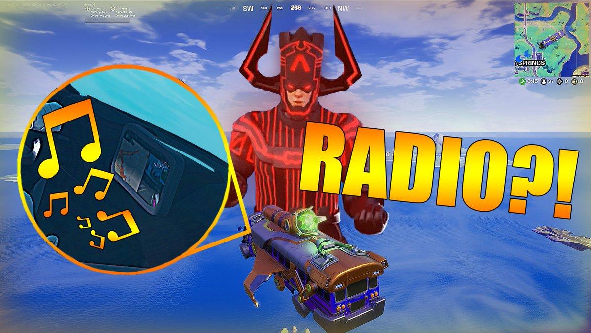 Fortnite Battle Bus Radio??