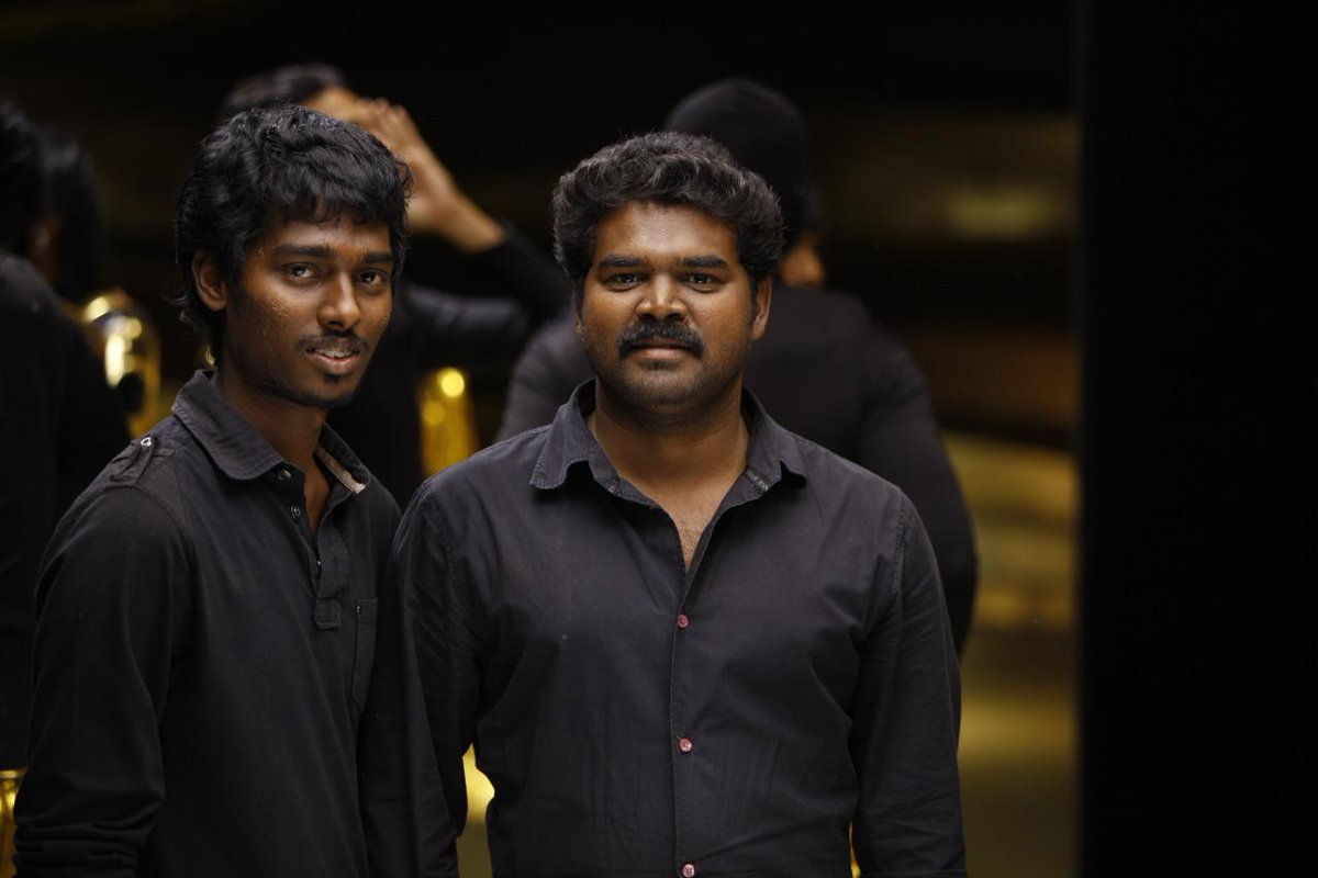 10 years of friendship bound by trust & value! When @Atlee_dir was the assistant director for Endhiran, @edwinsakaydop was a making cameraman for the same. From there, to being launched as a DoP for the current talk of the town #Andhaghaaram, it's been a wonder journey for him!🤗