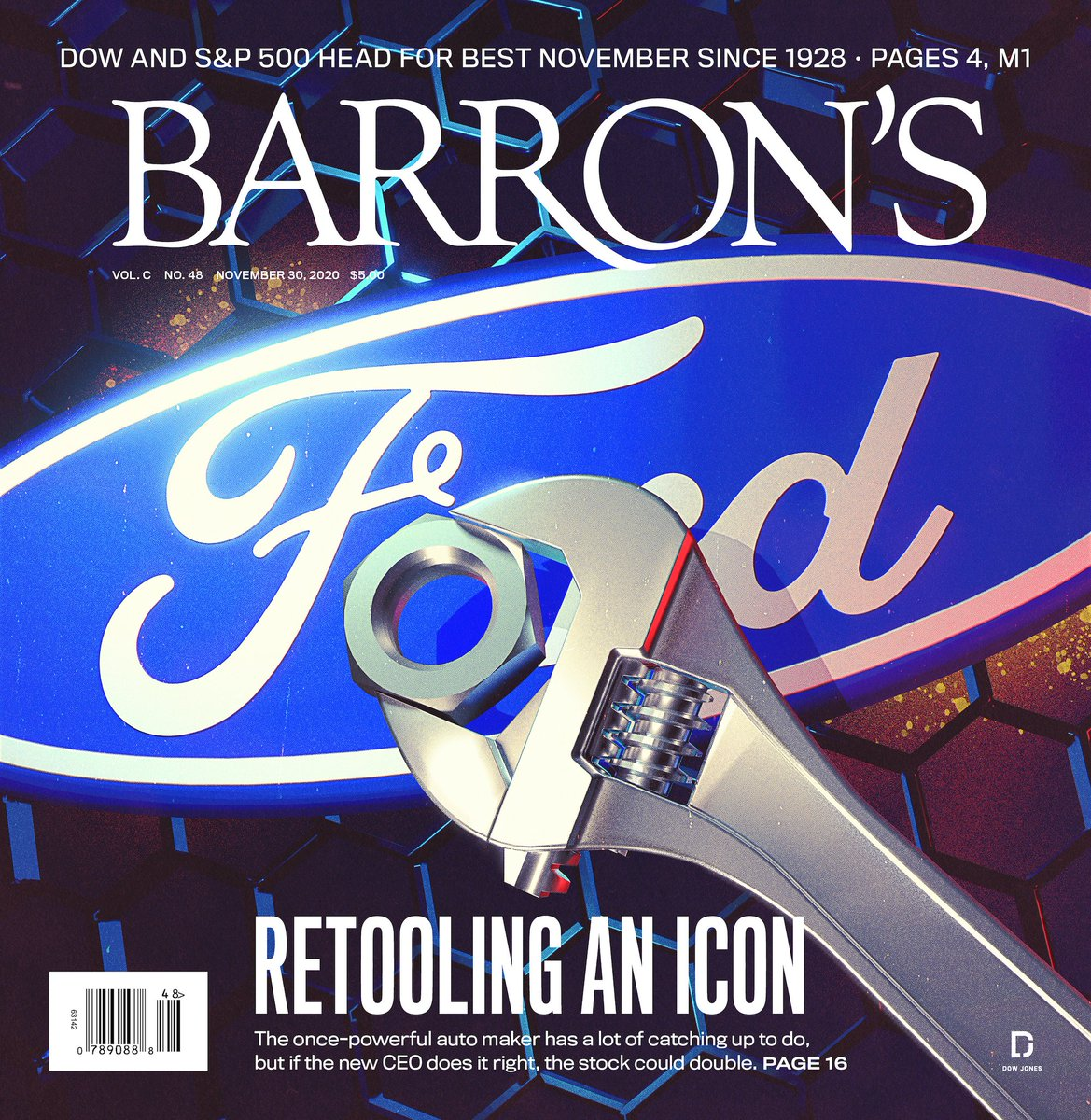Fords new CEO faces formidable challenges—but the legacy auto makers shares could soar if he succeeds in leading it into an electric future. Learn why Ford stock can double in this weeks issue of Barrons. on.barrons.com/2Vd1n1g