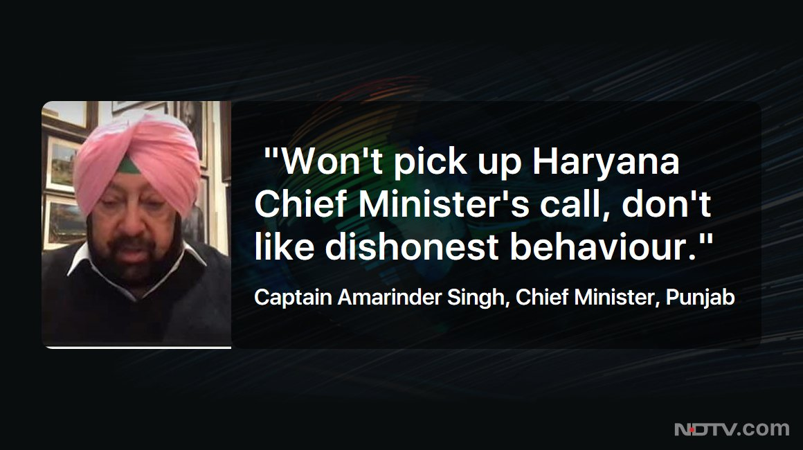 #NDTVExclusive | Punjab CM Captain Amarinder Singh on #FarmersProtest