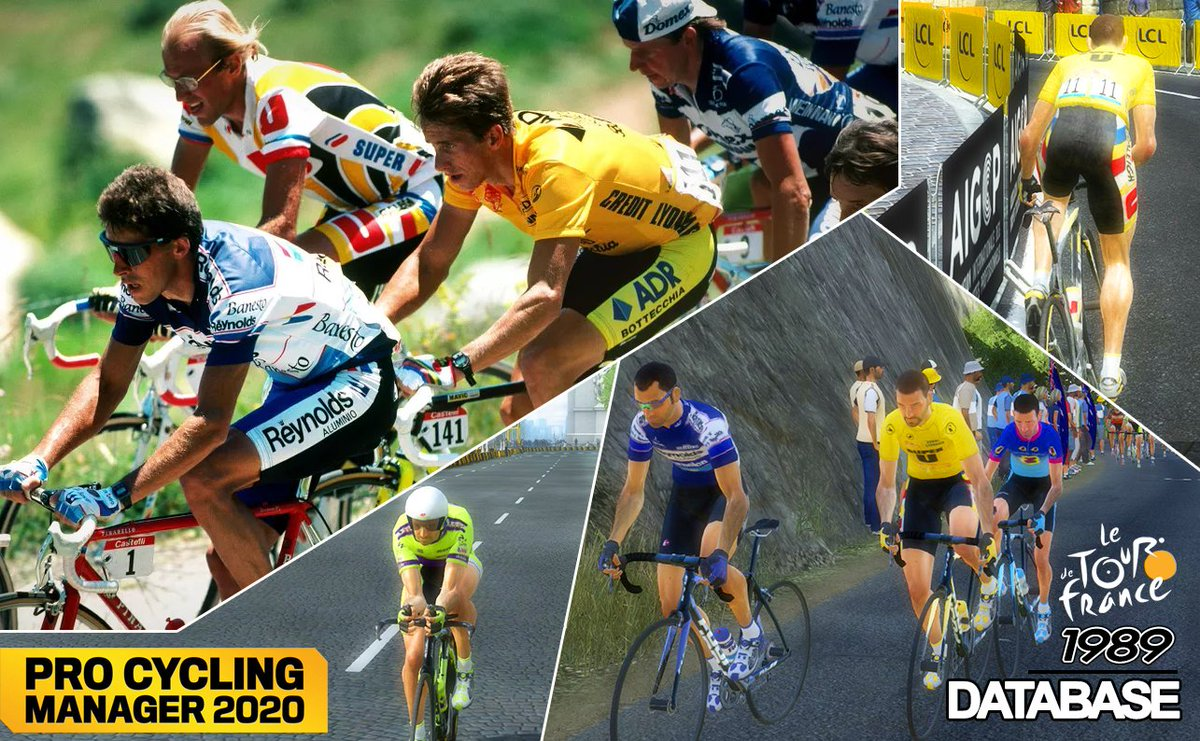 Stylus Danilo On Twitter Pcyclingmanager Never Stops It S The Turn To Relive The Legendary Tour De France 1989 For Pcm2020 Teams Cyclists Races Everything To Take The Part Of Fignon Or