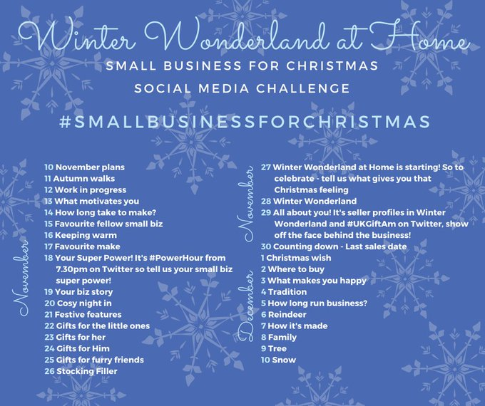Time for us to take our leave #UKGiftHour #UKGiftAM - but we've got a special #SundayMorning lined up for you tomorrow as part of 'Winter Wonderland at Home' with @ICCollabCreate and @ProCrafterGuild. Hope you can join us! Enjoy the rest of your day! #SmallBusinessforChristmas