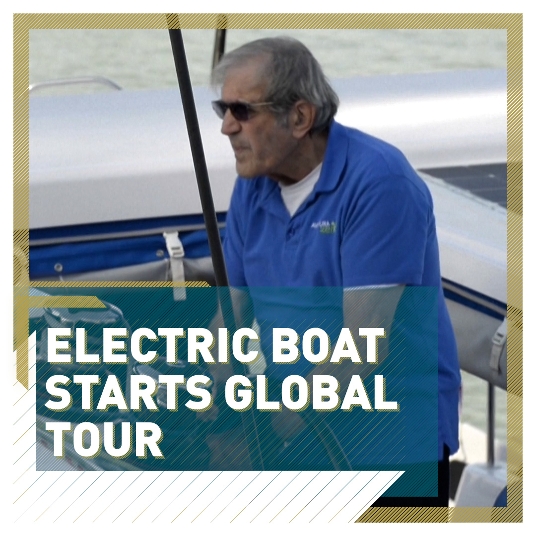 ⛵ 80-year-old sailor Jimmy Cornell has started a nine-month round-the-world voyage 🌍 He set sail from Seville in a catamaran on the 500th anniversary of the 1st ever global circumnavigation 🌊  Read more: