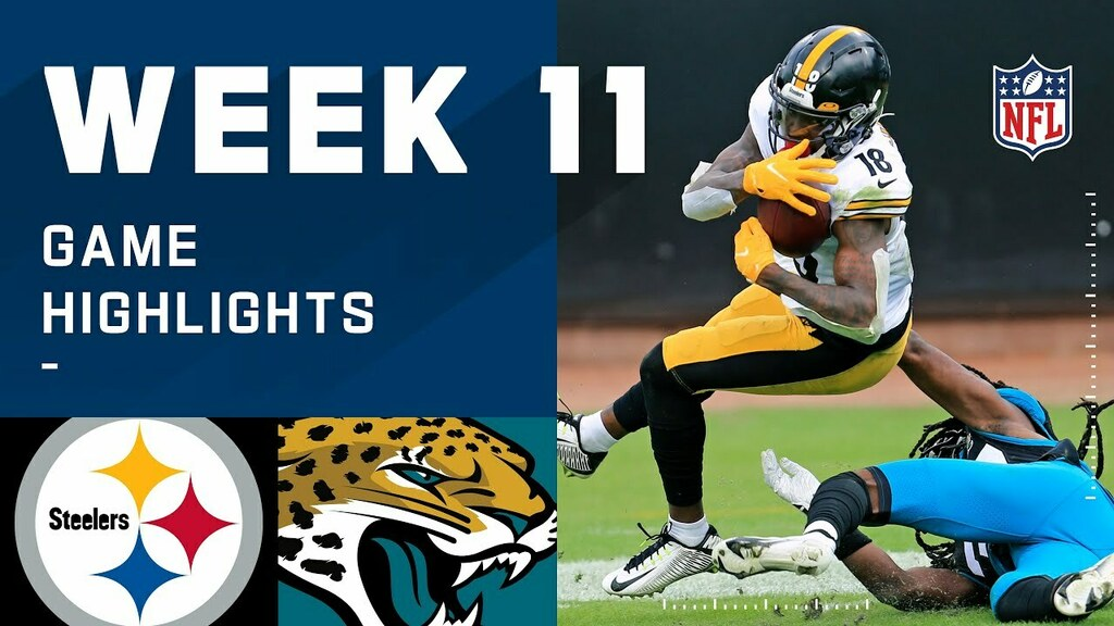 Steelers vs. Jaguars Week 11 Highlights | NFL 2020 https://t.co/K4uFAPRCj9 https://t.co/WYhRDBnwfY