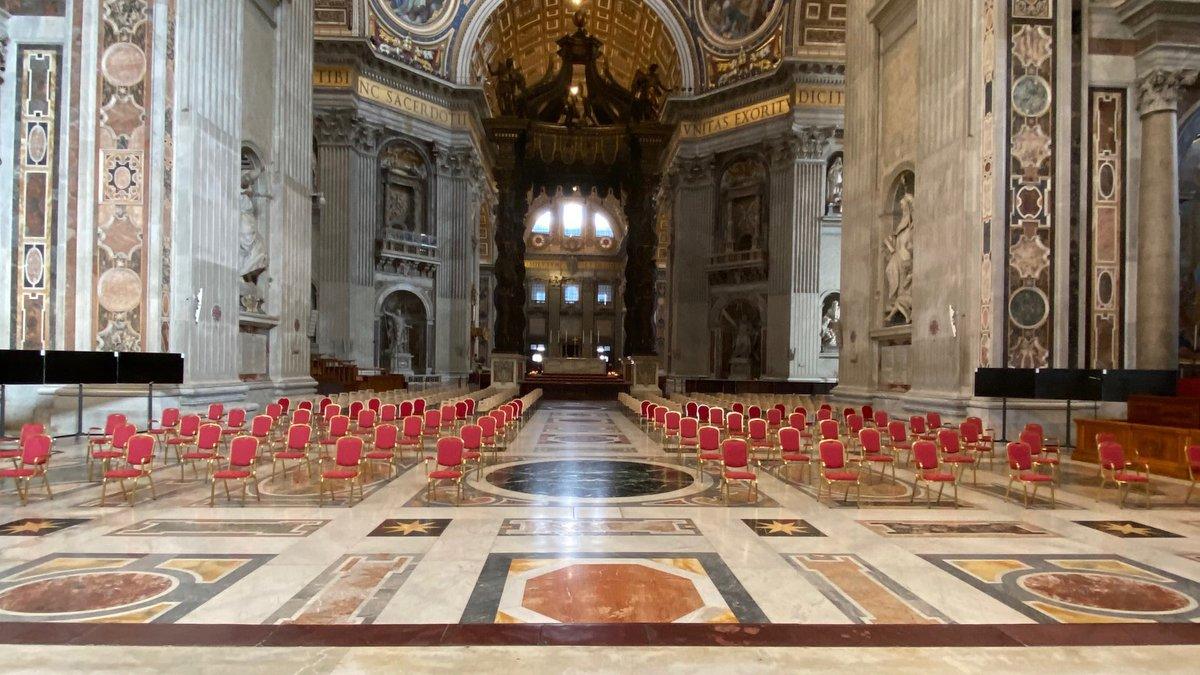 Siga el Consistorio Ordinario Público para la creación de nuevos cardenales - Basílica de San Pedro 16.00 h. (CET)