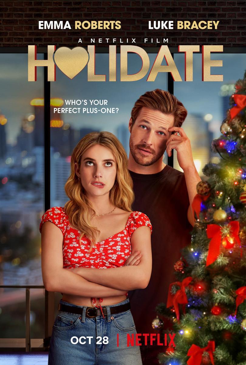 AMOR DE CALENDARIO (7/10) 👍🏻 Parece la típica película de Navidad romántica, pero no, aunque el final si Los protagonistas  Es entrenida  👎🏻 Sigue siendo una típica película de romance  #HolidateNetflix #holidate #Netflix