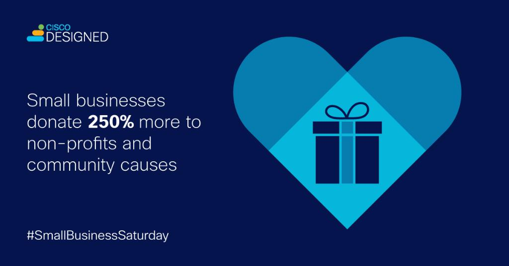 When you support a small business, you're supporting your community. Join us on today, Nov. 28, by shopping at your local businesses.  #SmallBizSat #ShopSmall