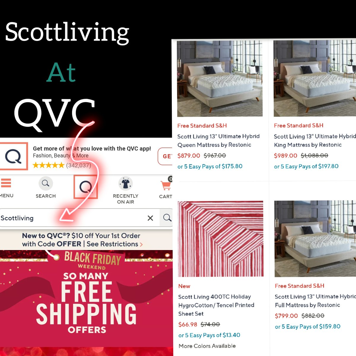 Shop Scottliving @QVC for amazing products #SaturdayMorning #SaturdayThoughts #SaturdayShoutout #SaturdayMotivation #SaturdayVibes #SaturdayExpress #coronavirus #shoponline #Trending #parenting #instagood #trends