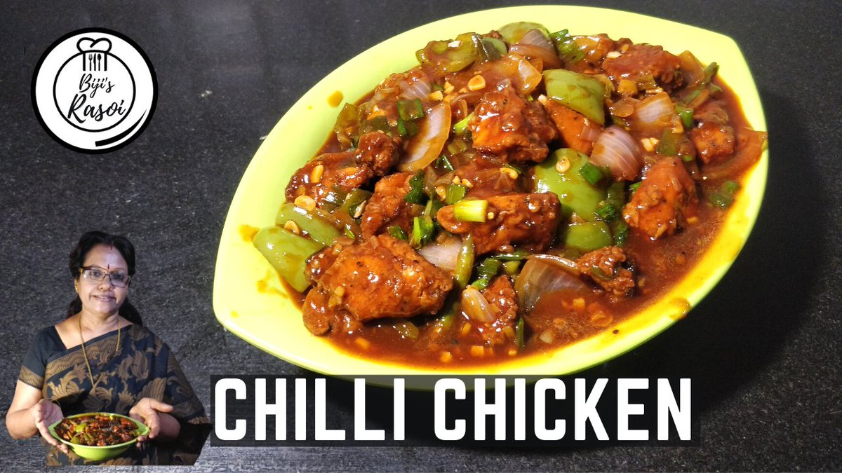 #ChineseRecipe and my most favorite recipe - #ChilliChicken 😁🍗🍝  Do try this as a starter and also a gravy! Thank you for subscribing to @bijis_rasoi ❤️  #RecipeOfTheDay #easyrecipes #Bijisrasoi #food #foodie #indochinese