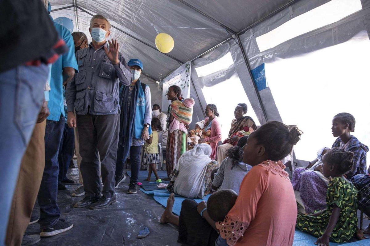 تدهور الاوضاع الانسانية على الحدود السودانية الاثيوبية بسبب الهجوم على تيغراي #ابي_احمد يشدد على مواصلة الهجوم على #تيغراي للسيطرة على عاصمتها #اقليم_تيغراي  #الازمة_الانسانية