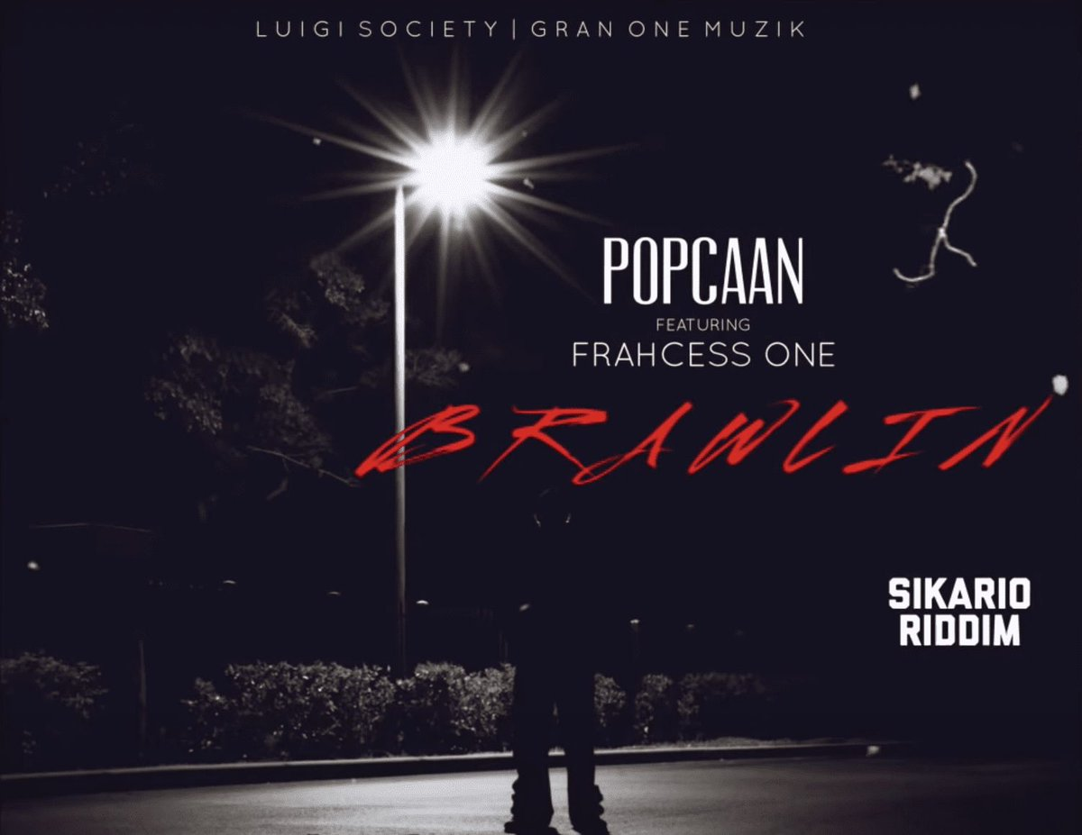 "Replying to @GRMDAILY: 🔥 @PopcaanMusic calls on Frahcess One for new track ""Brawlin""   ➡️"