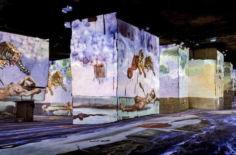Atelier des Lumières : plongez en immersion dans les œuvres de #Dalí et #Gaudí ⤵️