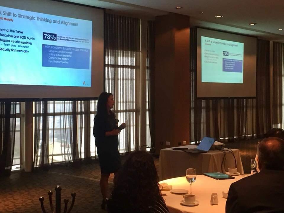 """#TBT """"Tendencias y Prioridades del #CIO 2019: Con un ojo puesto en la #Ciberseguridad"""" con Carolyn Crandall (@ctcrandall), CMO de @AttivoNetworks via #AMPI #Monterrey #cybersecurity #CISO #infosec https://t.co/zQDBPJZuRW"""